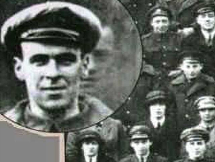 In 1919, air mechanic Freddy Jackson was killed by an airplane propeller in a freak accident. Two days later, his squadron took a group photo. The crew members were shocked to find Freddy in the group despite him being dead two days prior.  Read More: http://www.trueactivist.com/worlds-most-mysterious-and-unexplained-photos-gallery/16/