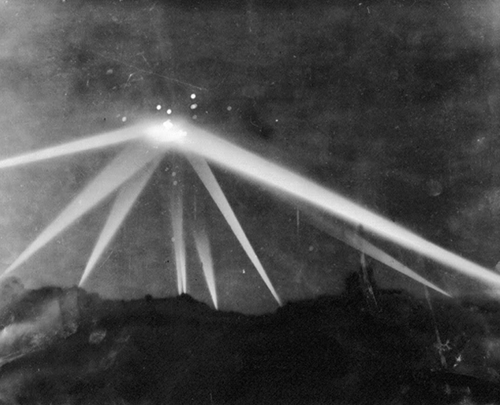 "On February 24, the skies of Los Angeles were lit with anti-aircraft artillery fires. The target: an unknown aircraft, thought to be an enemy. This spectacle is known as the Great Los Angeles Air Raid. The ""battle"" lasted for several hours from late February 24 to early February 25. Some theorized that the aircraft may have been from an extraterrestrial source."