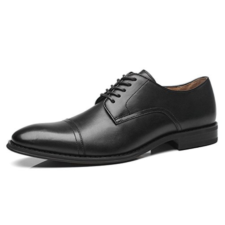 Oxford Shoes  Buy on Amazon   There are more modern choices. There are more stylish choices. But a classic pair of Oxfords is the most reliable dress shoe in history, so buy a pair. Actually, buy two: one in brown, one in black.
