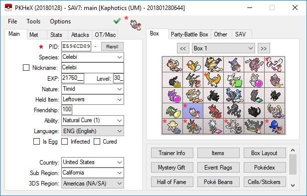 Image courtesy of Project Pokémon
