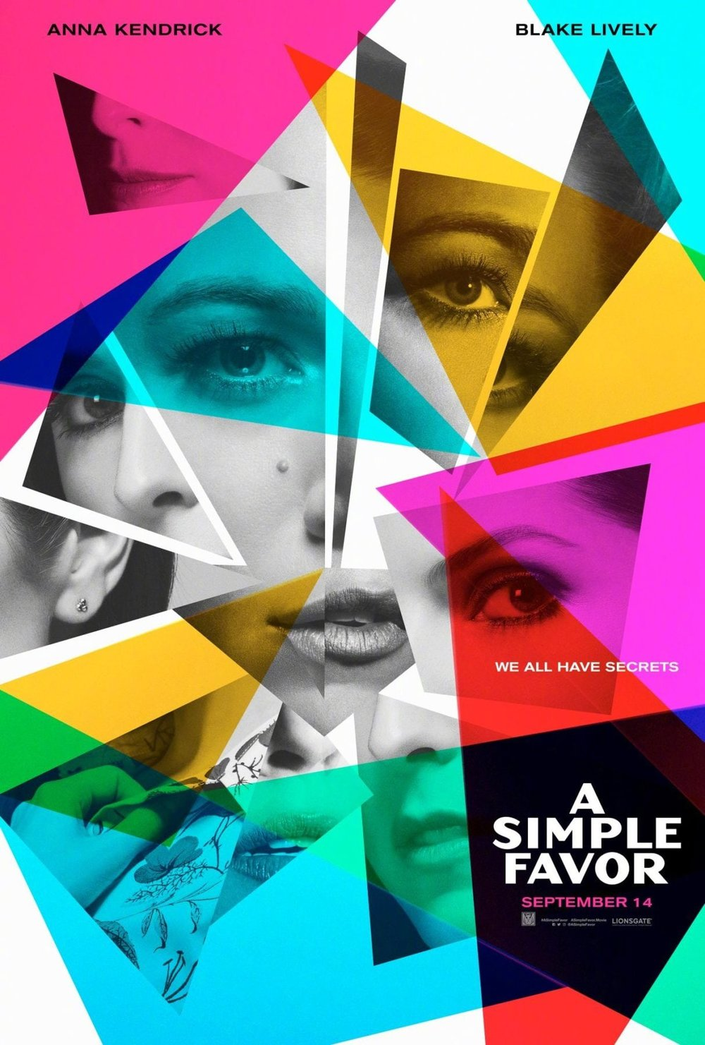 Twisting and twisted, A Simple Favor is the understated crime thriller that nobody expected this year. Half the fun is guessing what you think is happening, only to have your expectations subverted almost immediately. -
