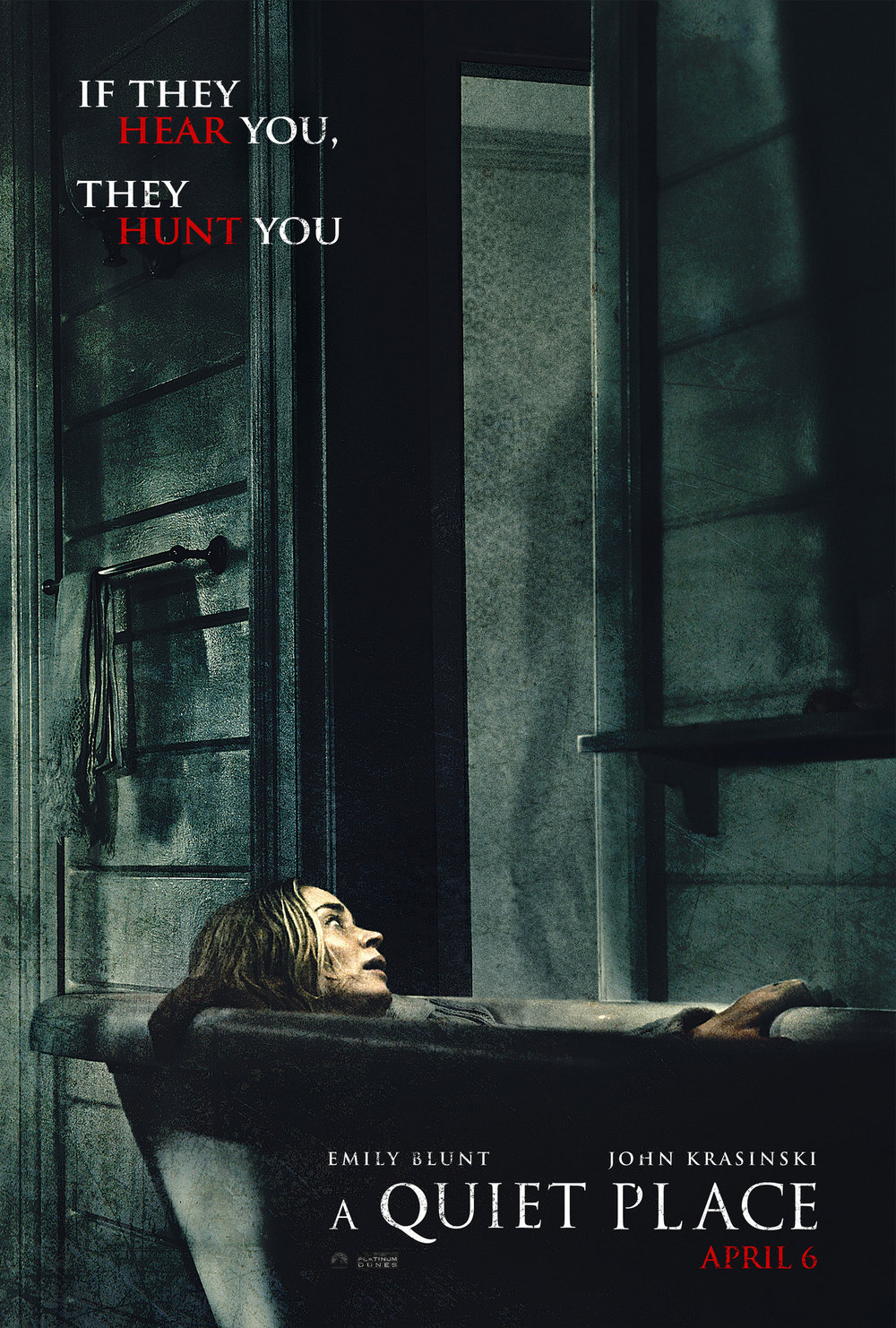 Tense, suspenseful, and dramatic, A Quiet Place is the only film where I've heard the audience be 100% silent the entire running time. Despite a couple goofy plot elements, an exciting watch. -