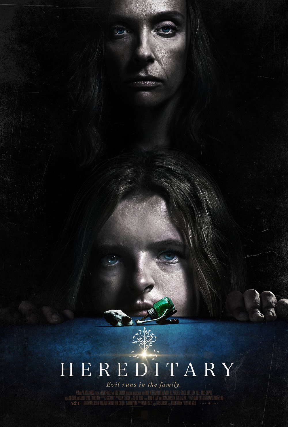 Darkly scary and deeply disturbing, Hereditary is a horror movie that benefits from a couple viewings, but is terrifying enough to let a single viewing stand on its own. Highly recommended for a particular sequence of events midway through the movie that completely change everything that follows in an unpredictable, insane way. -