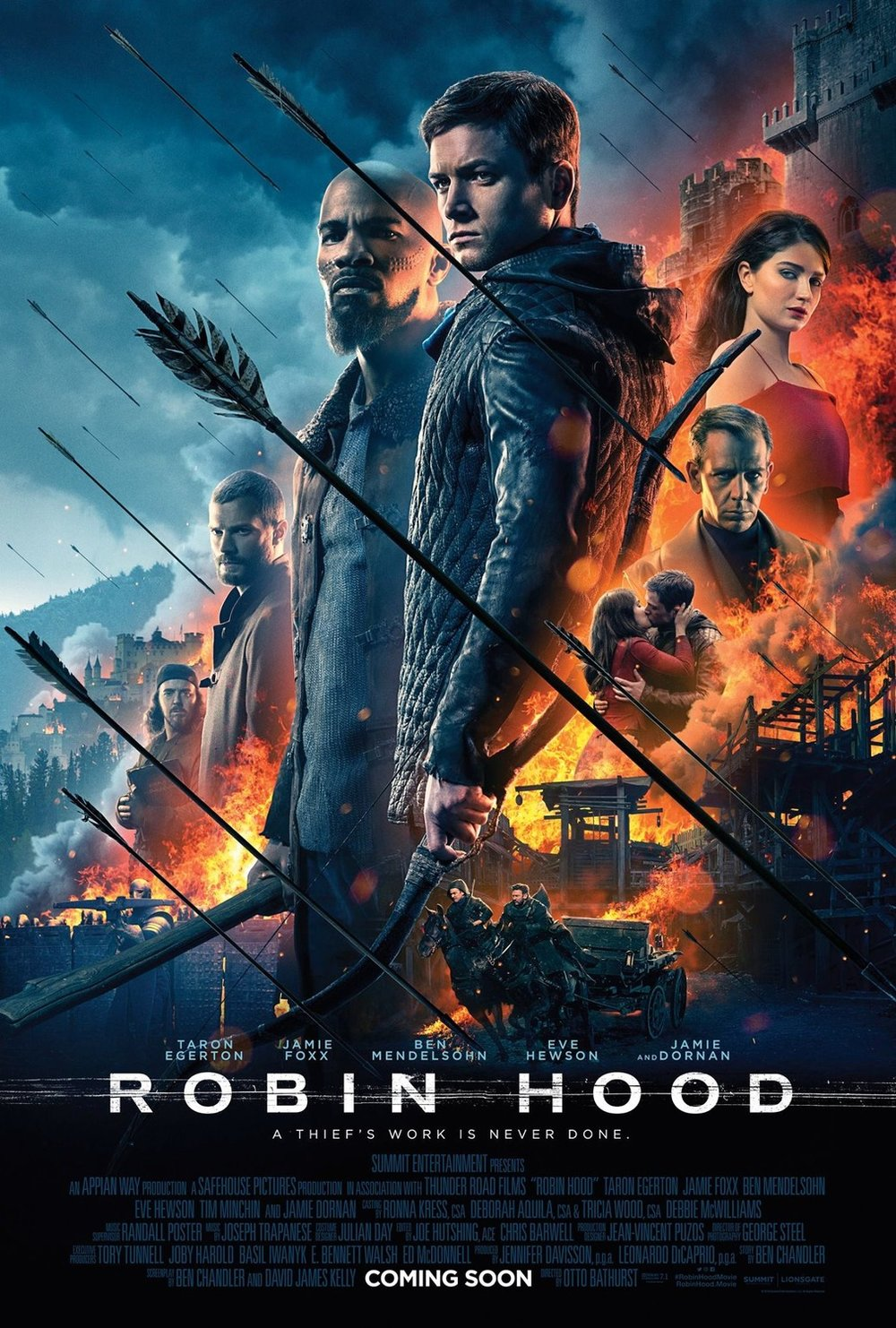 Remember that King Arthur movie that came out last year that nobody cared about? Now its a Robin Hood one! This one made me angry, because I like every member of this cast, but what an uninteresting mess of a movie. -