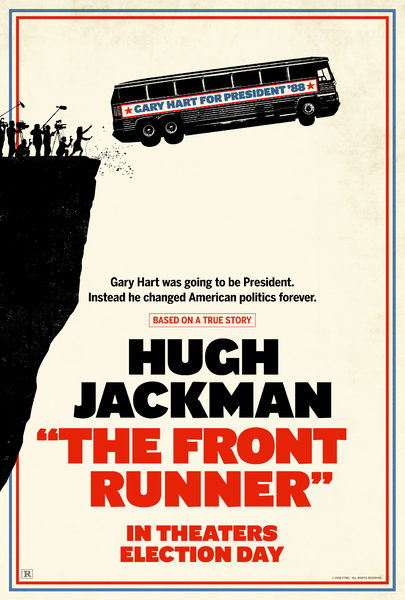 Does anybody in 2018 need a movie where a well-intentioned politician gets railroaded by outside forces? No? You could really just watch the news and skip this forgettable retelling of Hart's failed Presidential campaign. -