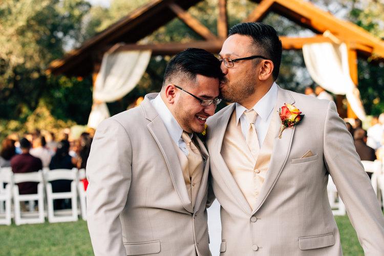 Outdoor Rustic Same-Sex Wedding in New Braunfels — Madelinne Grey