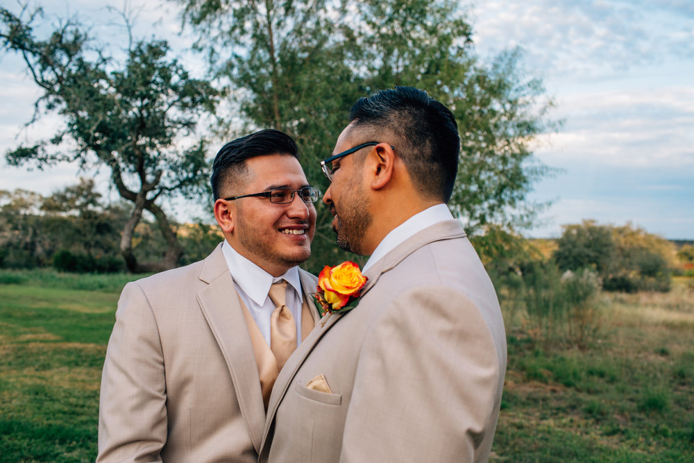 Texas Gay Wedding Photography