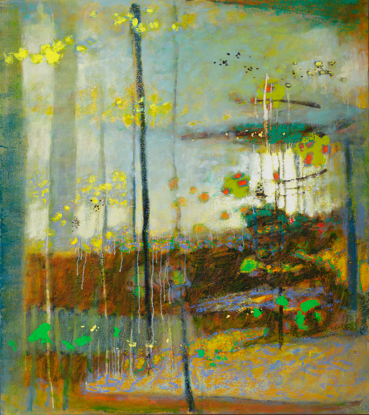 Sanctuary In Light   | oil on canvas | 54 x 48"