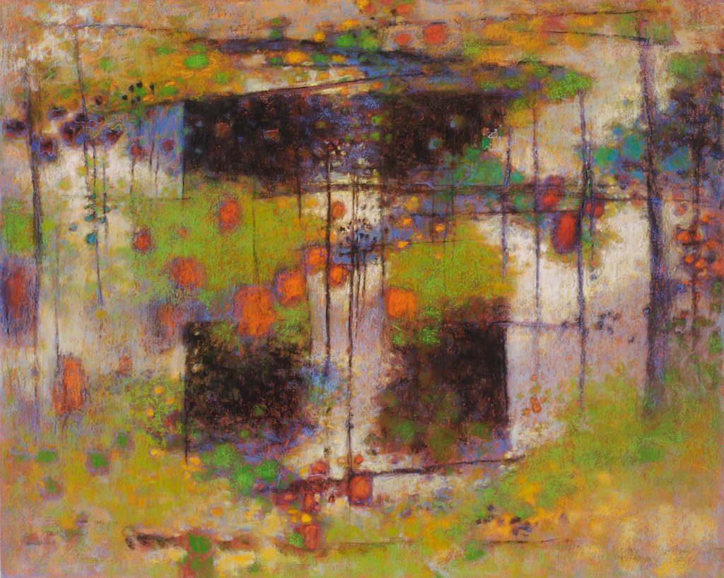 This Moment   | pastel on paper | 24 x 30"
