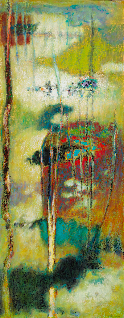 The Nature Of What Arises   | oil on canvas | 48 x 19"