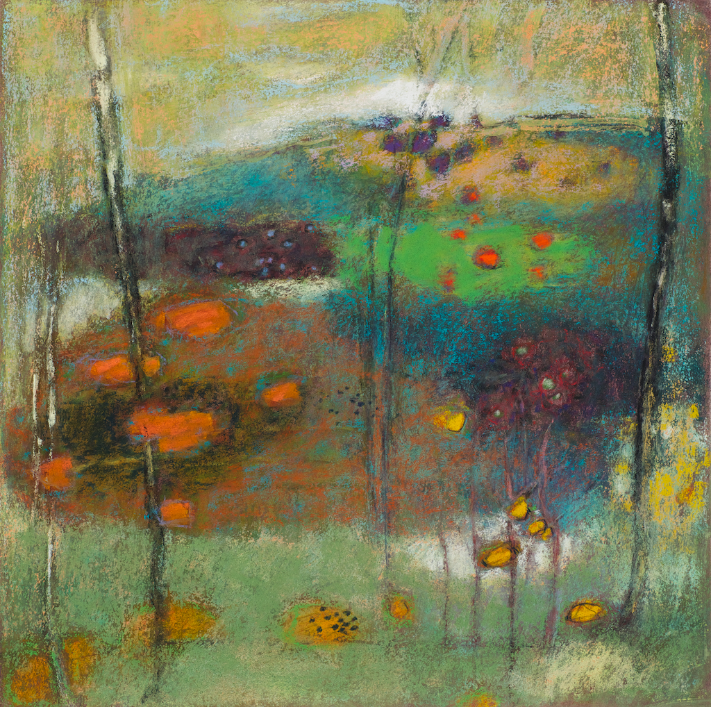 31-13 | pastel on paper | 14 x 14"