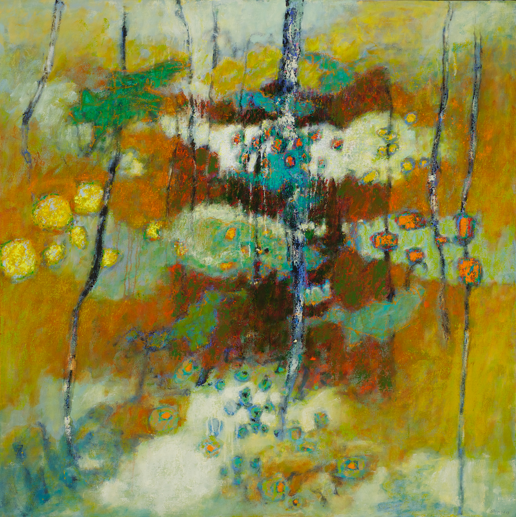 Earthly Notions   | oil on canvas | 48 x 48"