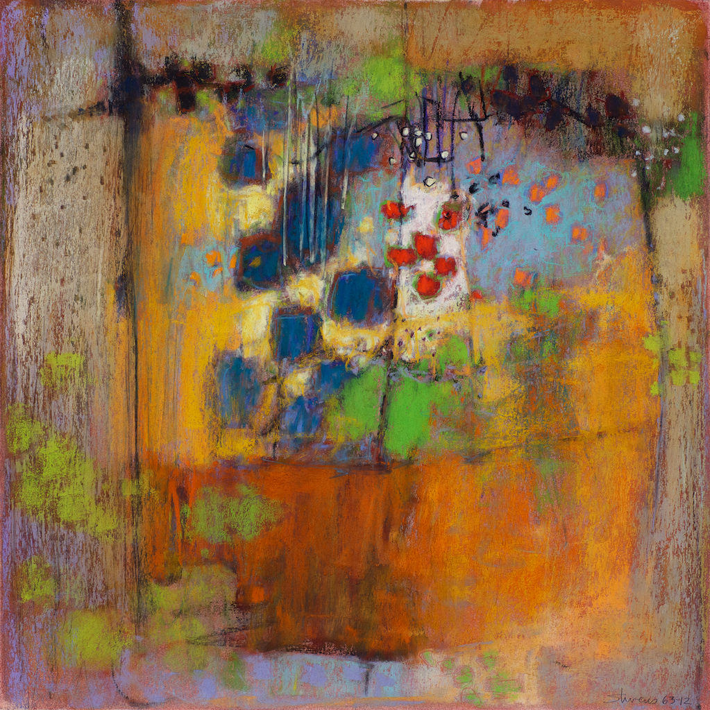 62-12 | pastel on paper | 14 x 14"