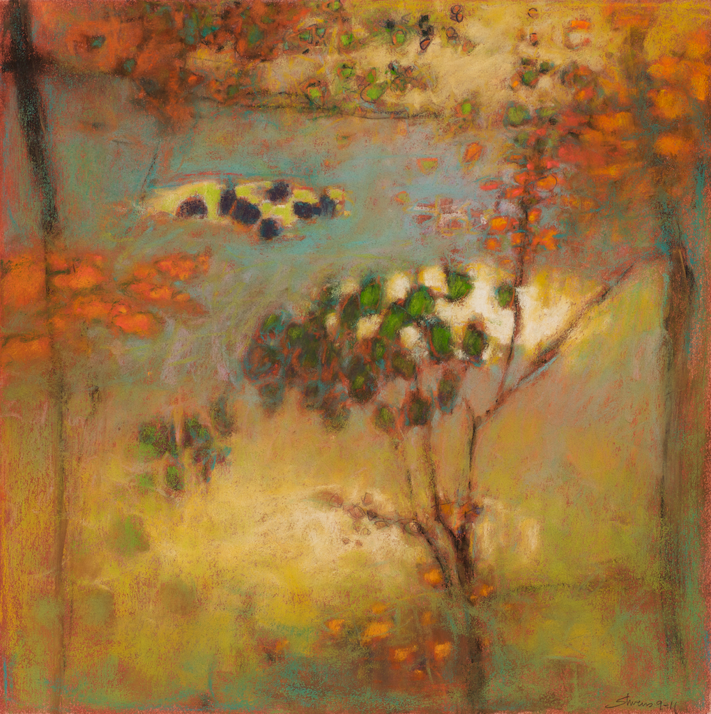 9-11 | pastel on paper | 14 x 14"