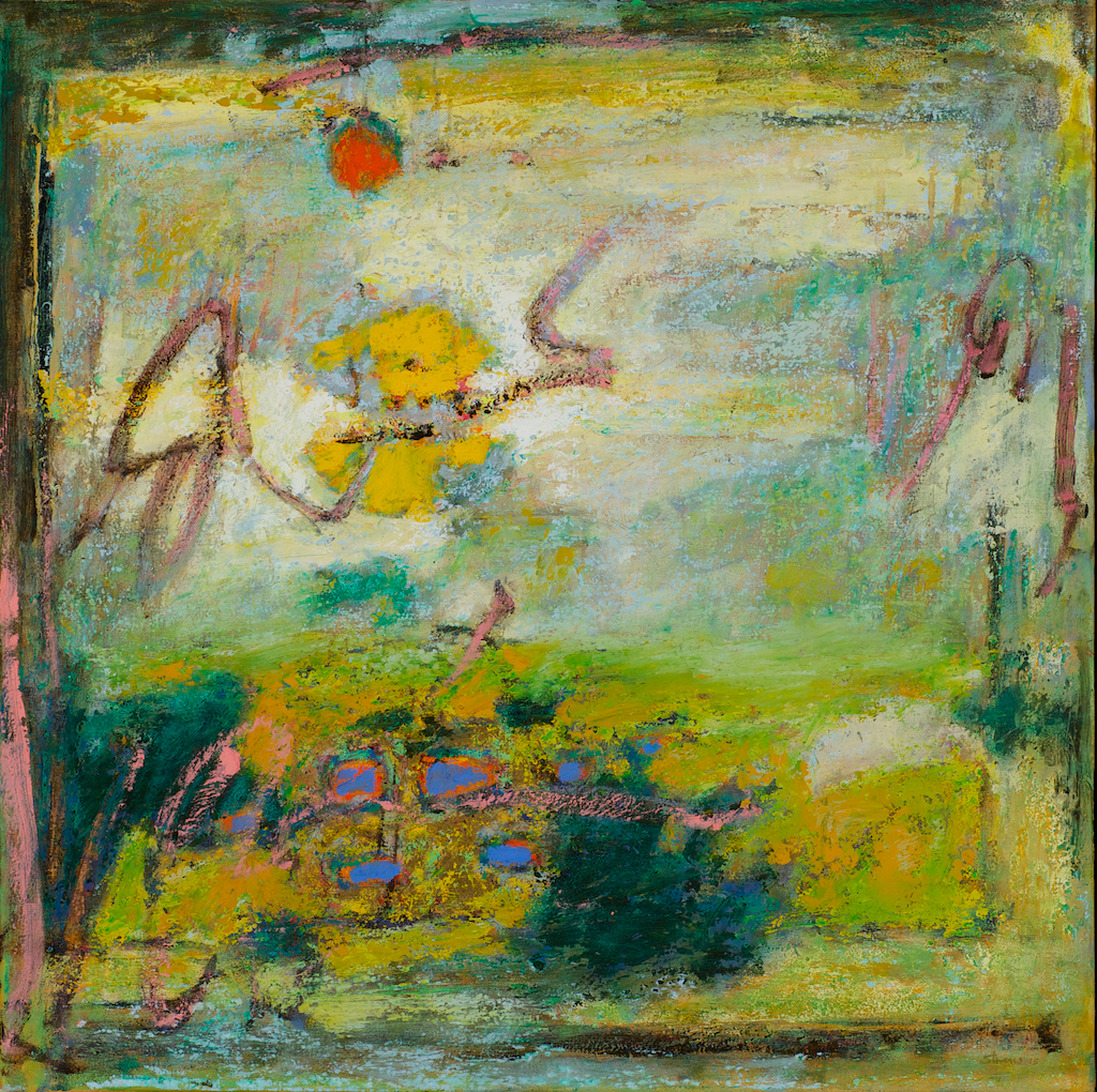 Billowing Presence | oil on canvas | 32 x 32"