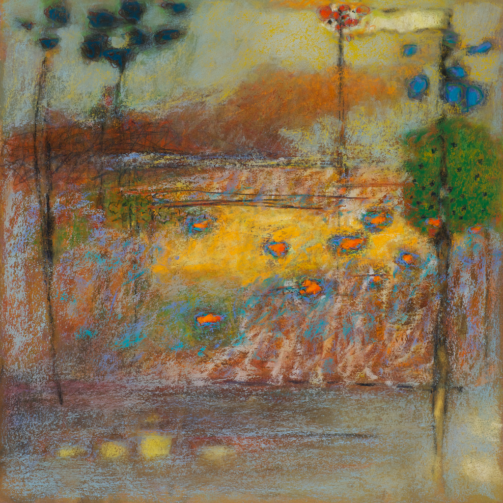 26-13   | pastel on paper | 14 x 14"