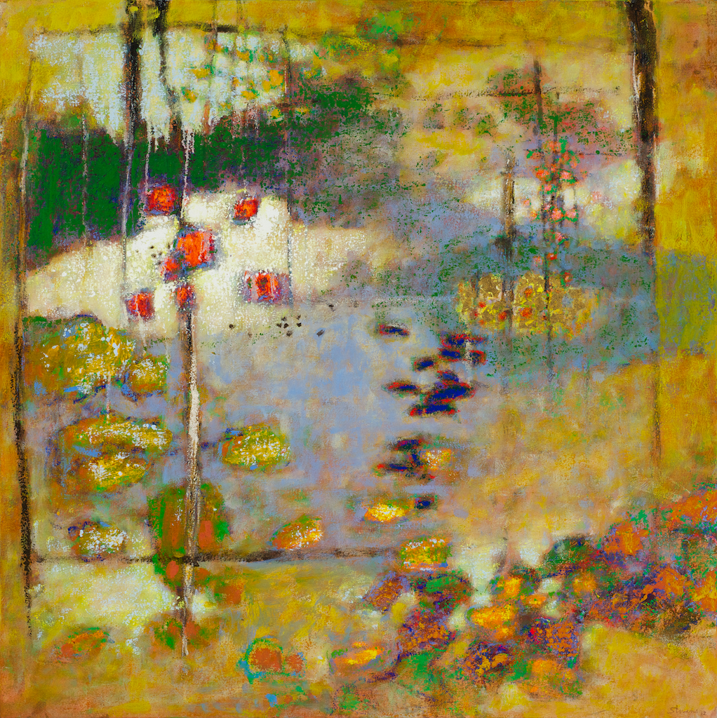 At the Dreams Door | oil on canvas | 36 x 36"