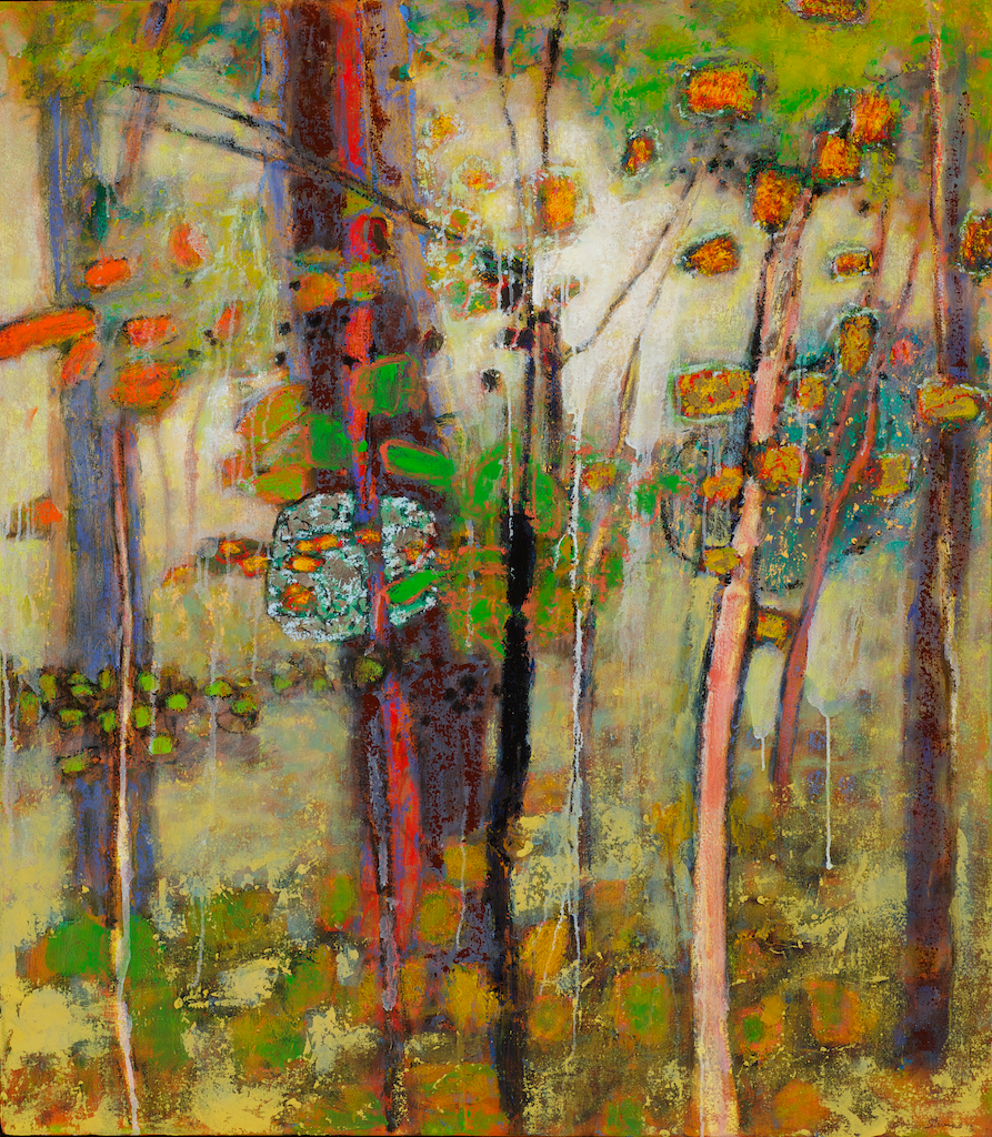 Penetrating The Mystery | oil on canvas | 40 x 35"
