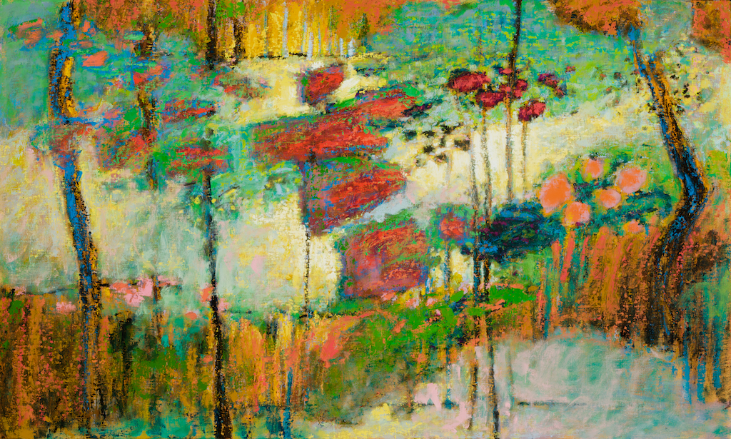 Garden Of Hope   | oil on linen | 30 x 50"