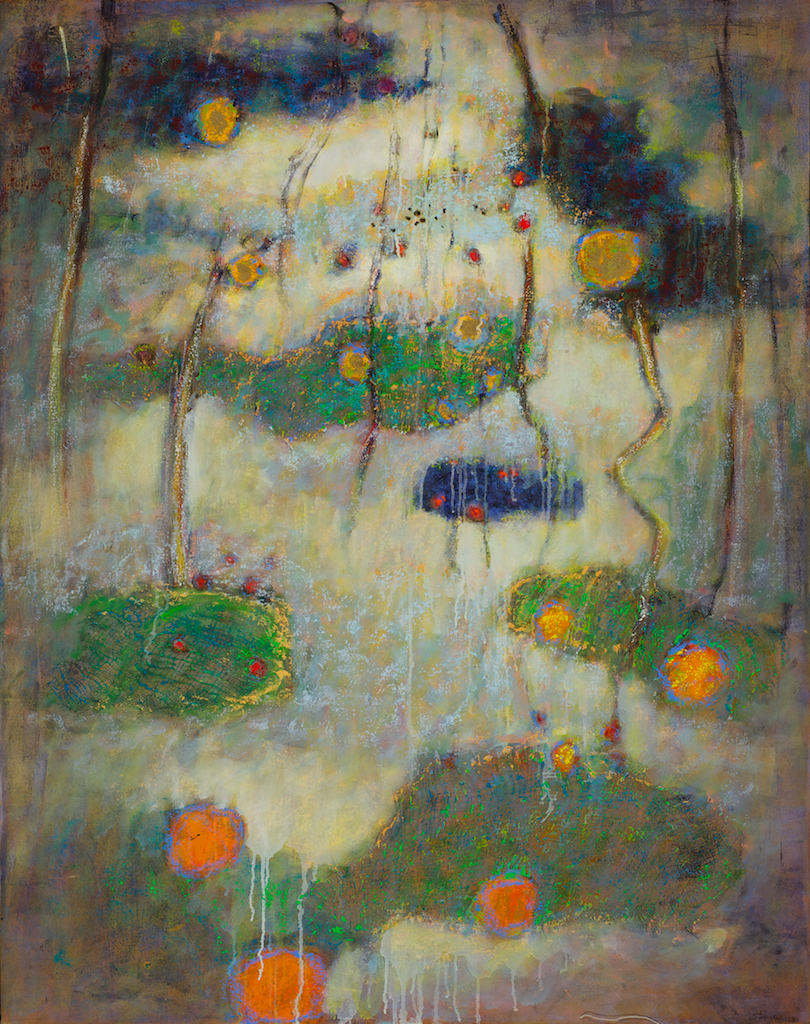 Deepening Entwinement | oil on canvas | 40 x 36"