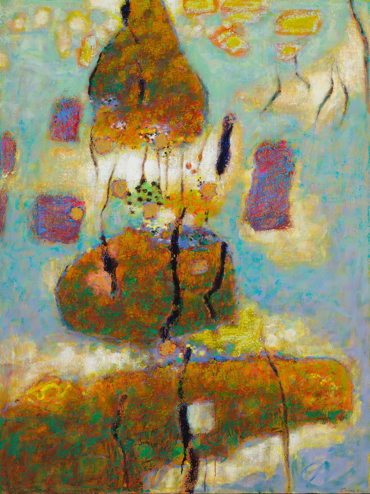Psychic    Entity  | oil on canvas | 48 x 36"