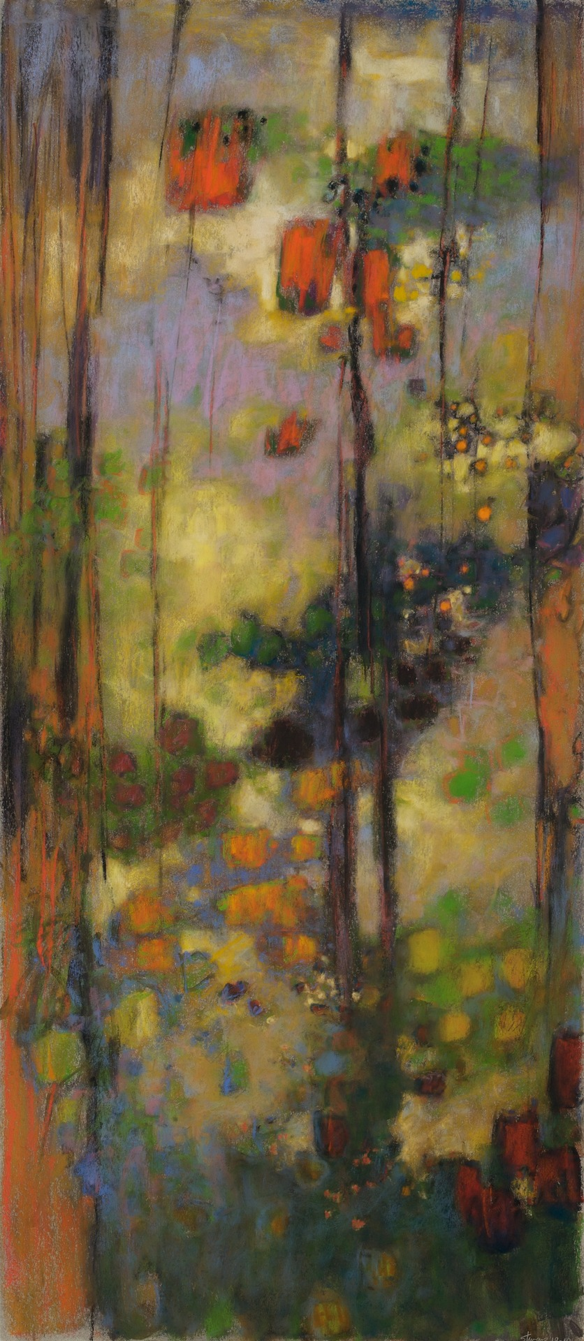 Dynamic Stillness   | pastel on paper | 25 x 30"