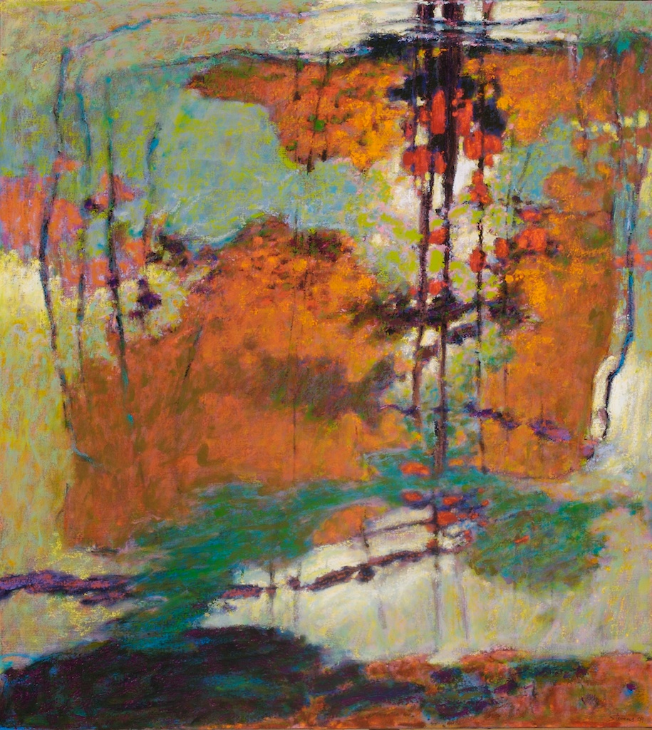 Earth Extraction   | oil on canvas | 40 x 36"