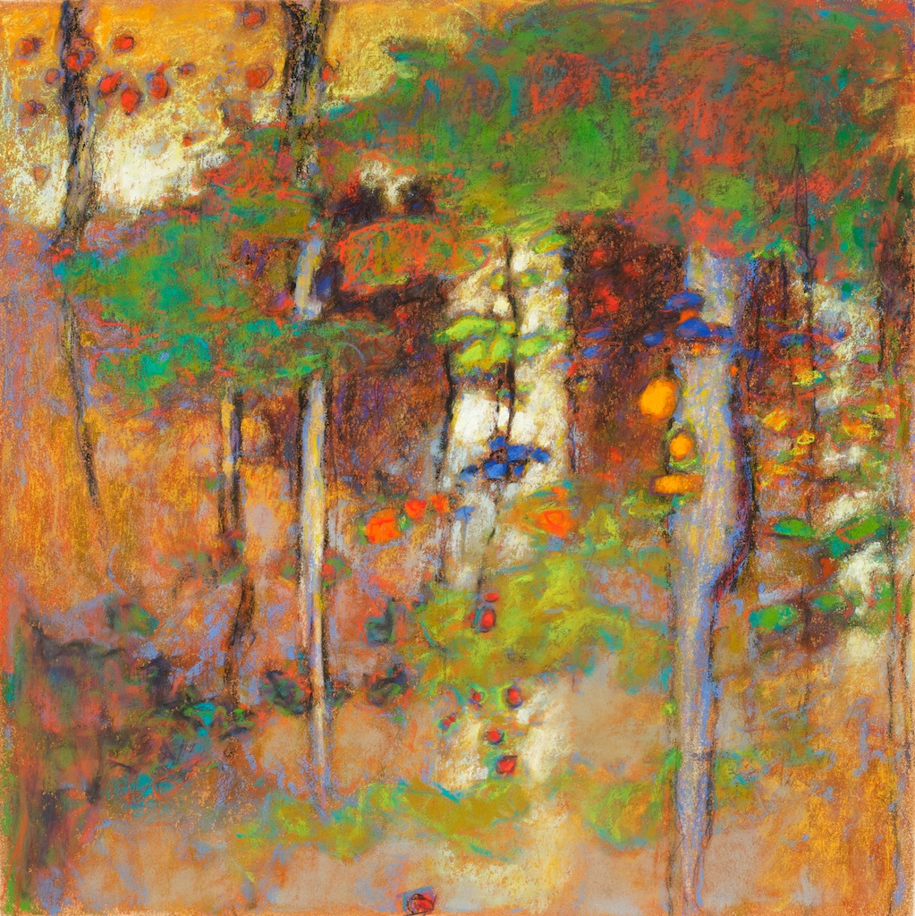 84-09 | pastel on paper | 14 x 14"