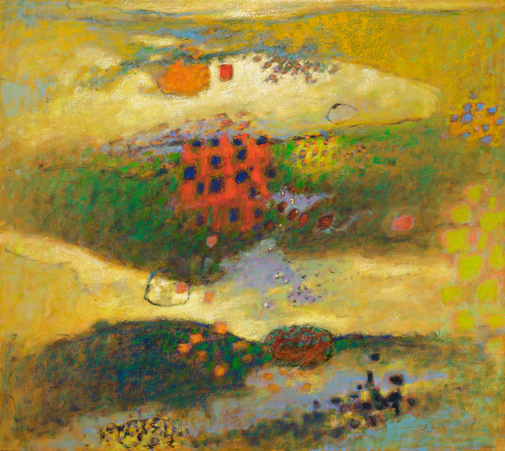 Between Worlds   | oil on panel | 48 x 54"