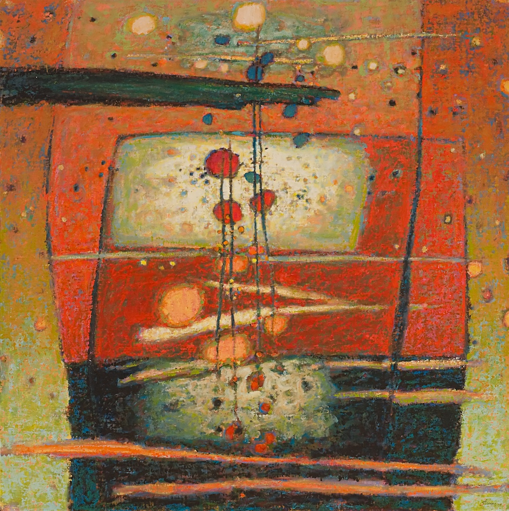 Luminous Presence   | oil on linen | 47 x 47"