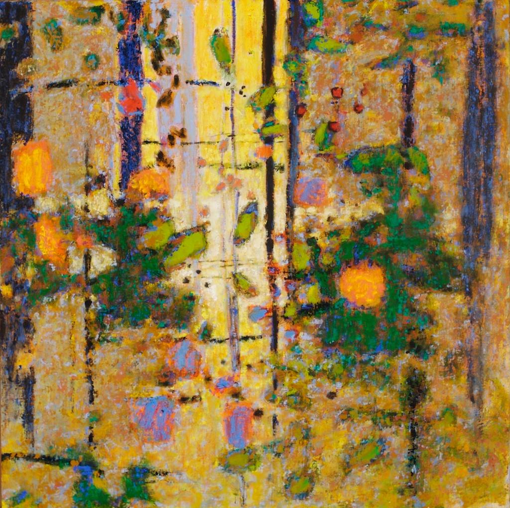 "Glimmering Refuge  | oil on canvas | 28 x 28"" | 2008    website"