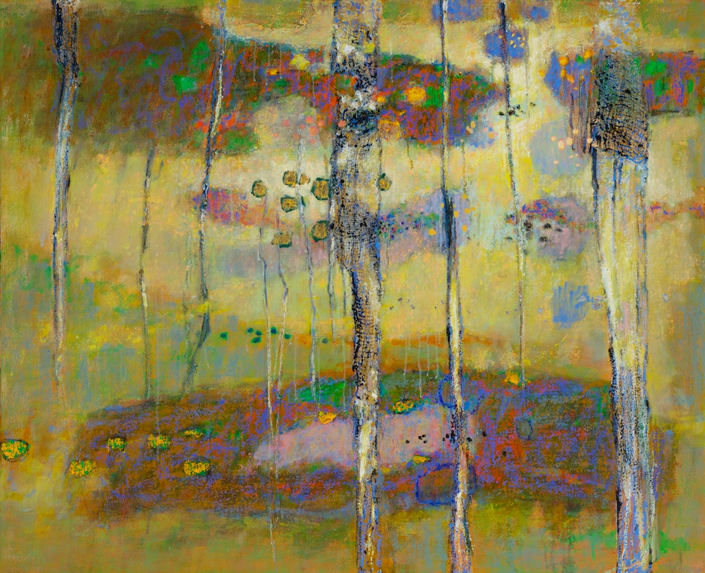 The Call Of The Hermit Thrush   | oil on canvas | 36 x 40"