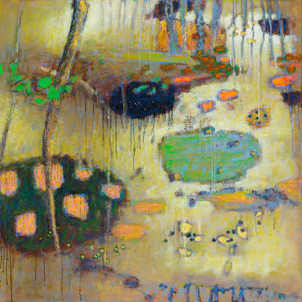 The One Or The Ten Thousand Things | oil on canvas | 48 x 48"