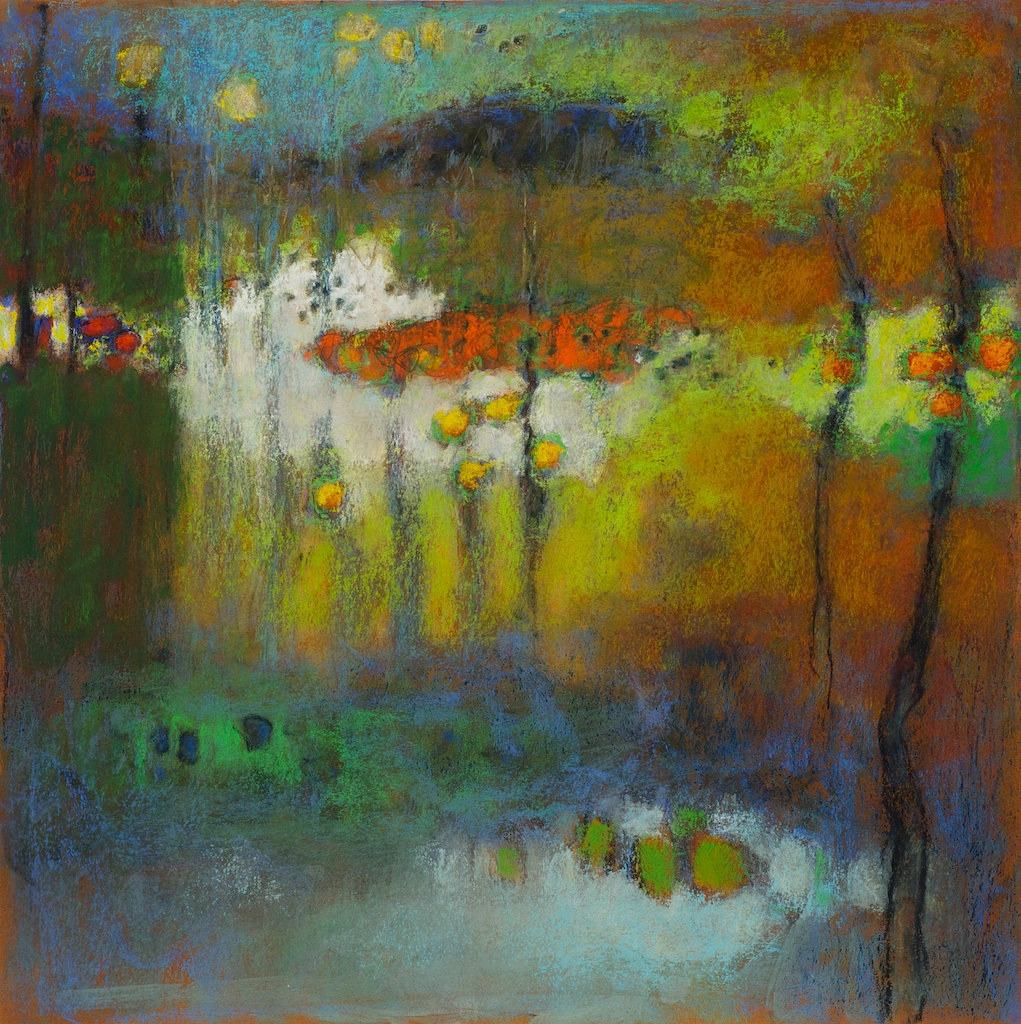 6-13 | pastel on paper | 14 x 14"