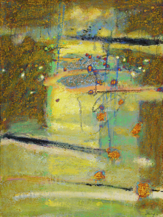 Transmission   | oil on canvas | 32 x 24"