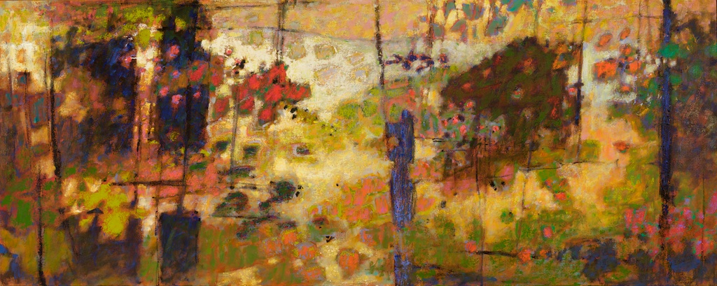 Backlit III | oil on canvas | 36 x 80"