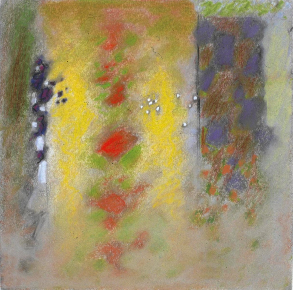 17-03 | pastel on paper | 14 x 14"