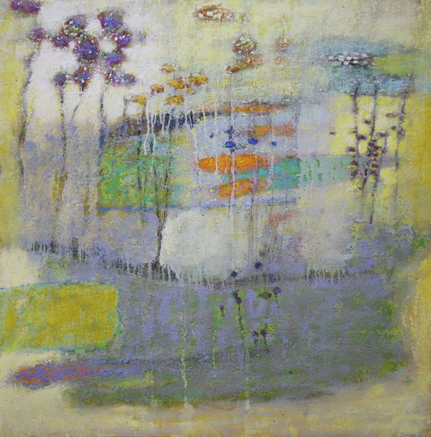 Forward Into Innocence   | oil on canvas | 32 x 32"
