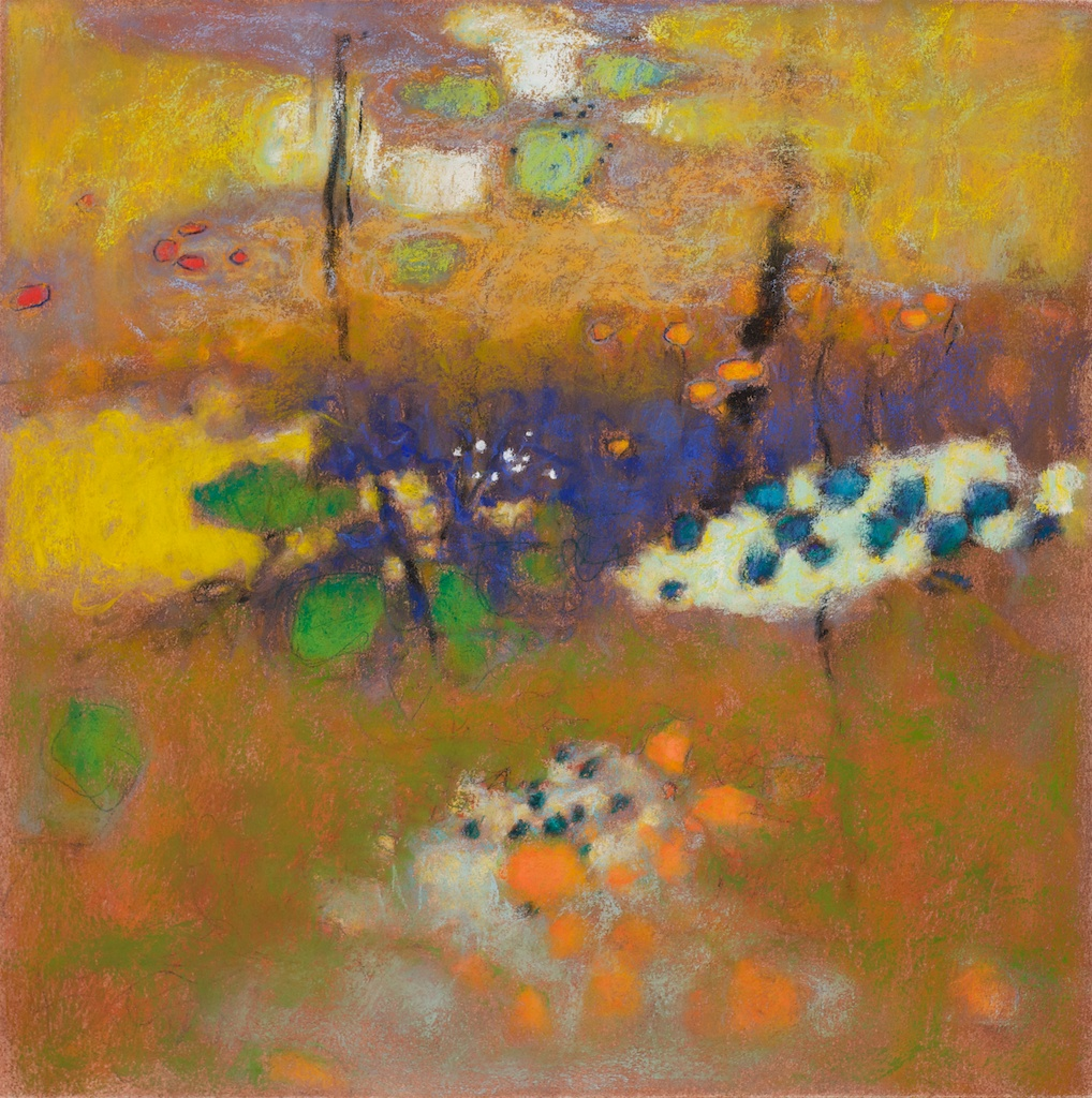 21-11 | pastel on paper | 14 x 14"