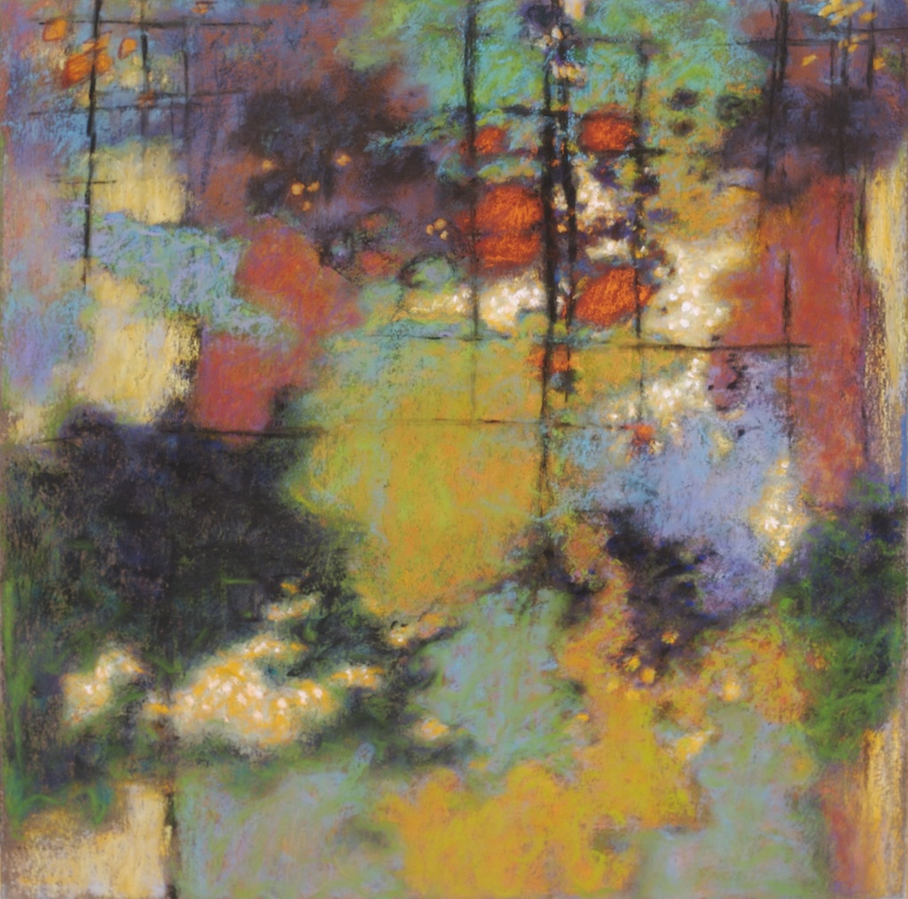 31-09 | pastel on paper | 14 x 14"