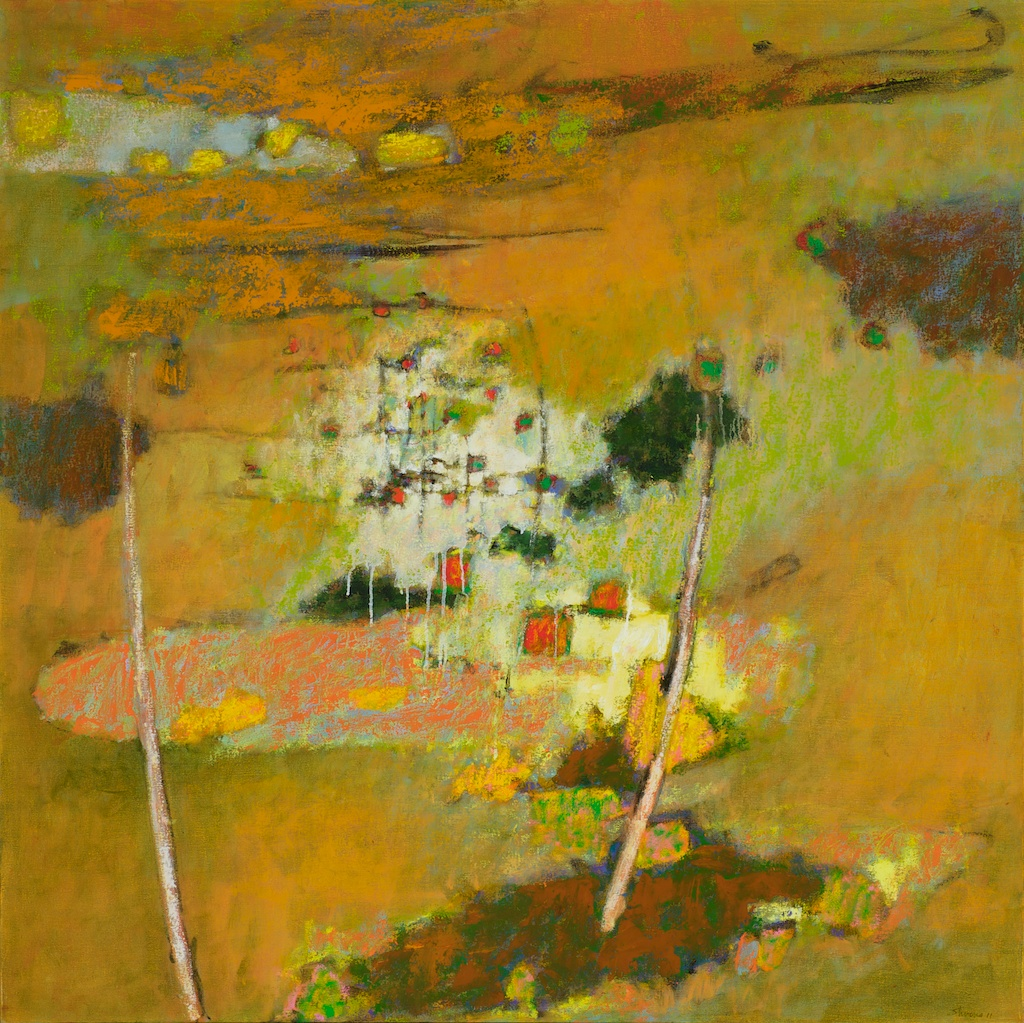 Emptiness Is Form | oil on canvas | 48 x 48"