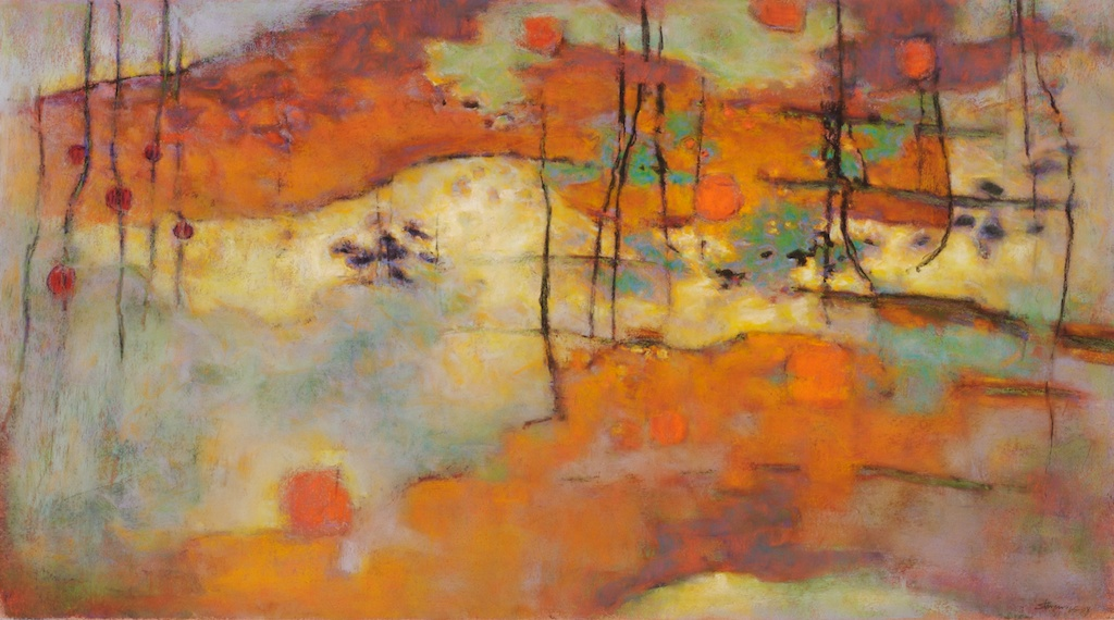 Upland   | pastel on paper | 20 x 36"