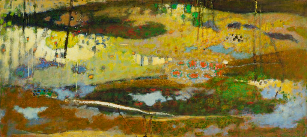 Nothing But Life   | oil on canvas | 36 x 80"