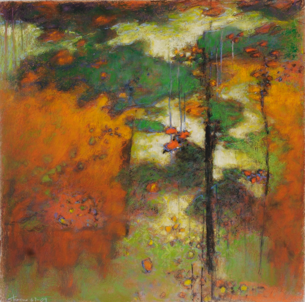 67-09   | pastel on paper | 14 x 14"