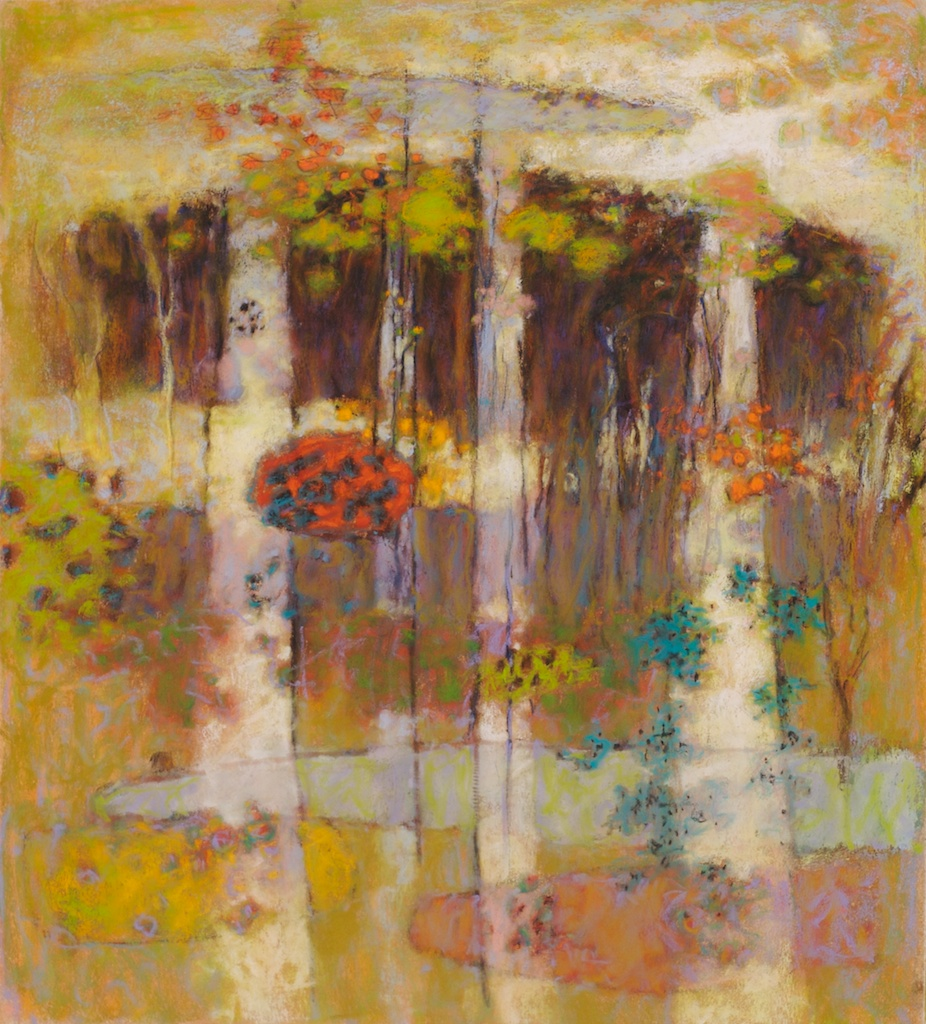 A Delicate Balance | pastel on paper | 20 x 18"