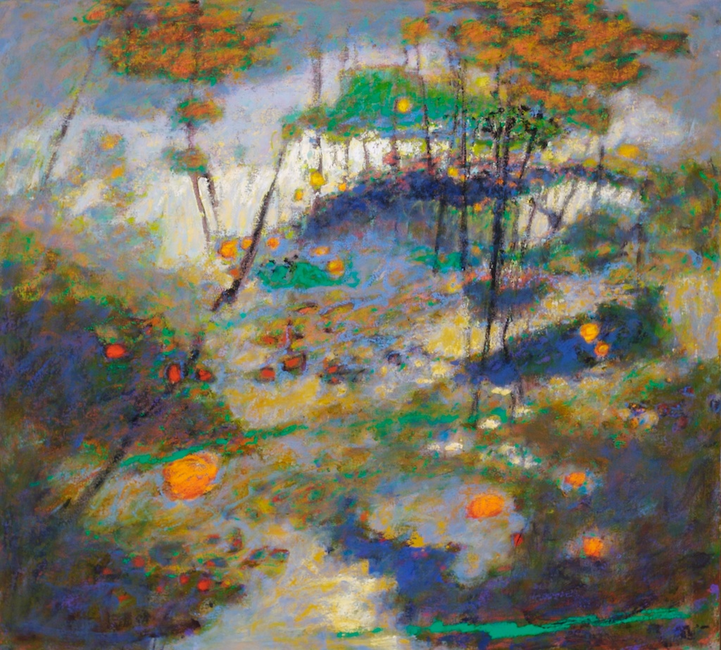 Vanishing Terrain   | oil on canvas | 36 x 40"