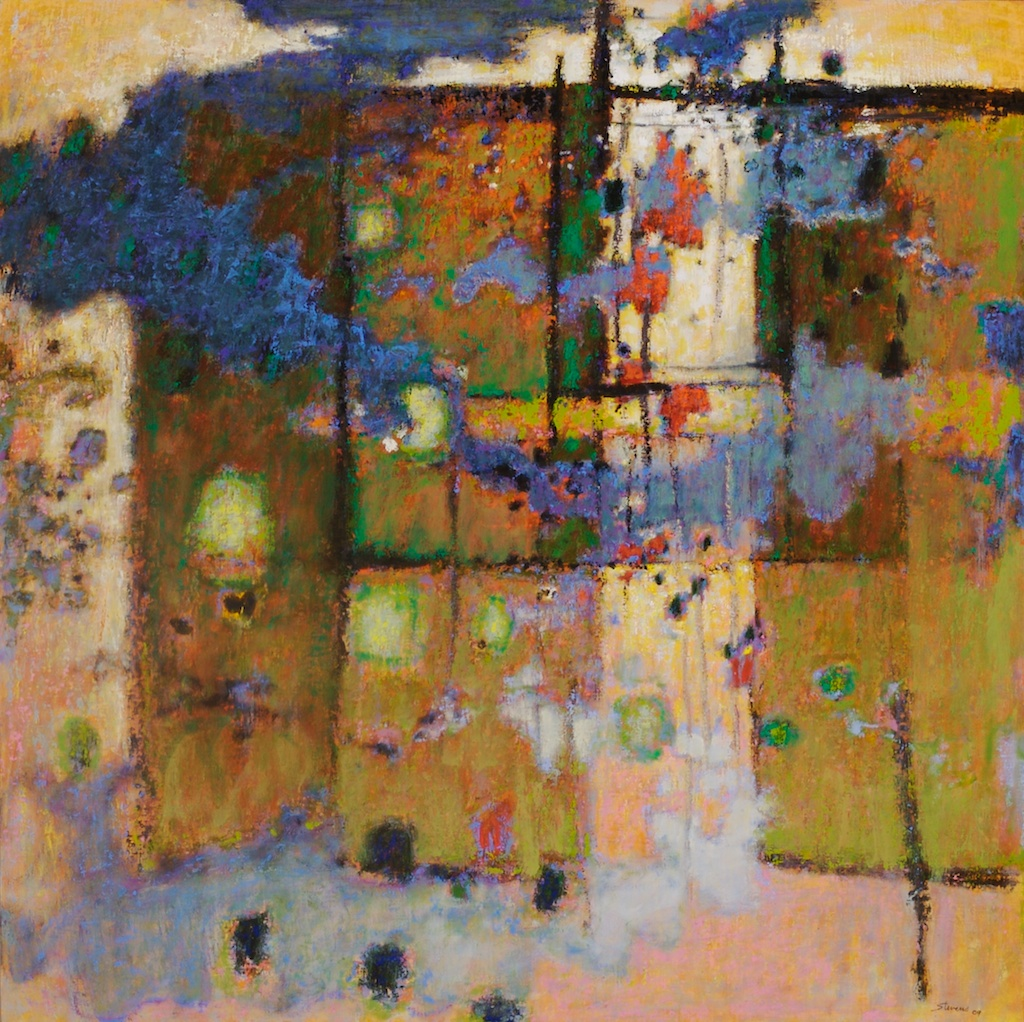 Sanctuary | oil on canvas | 48 x 48"