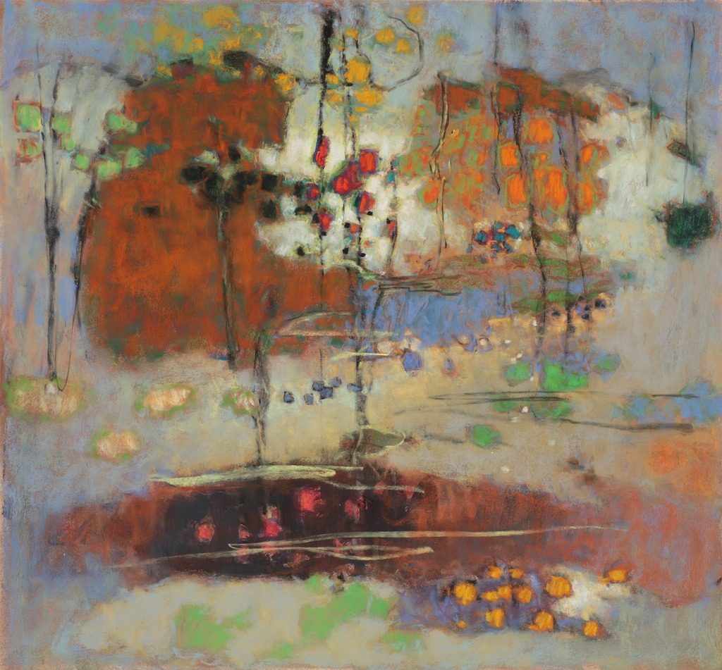 The One Becomes Many   | pastel on paper | 24 x 26"