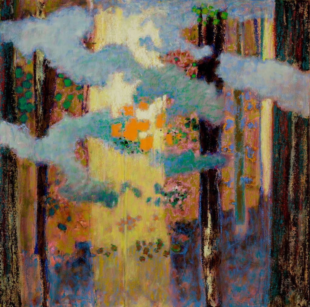 Night Dances   | oil on canvas | 36 x 36"