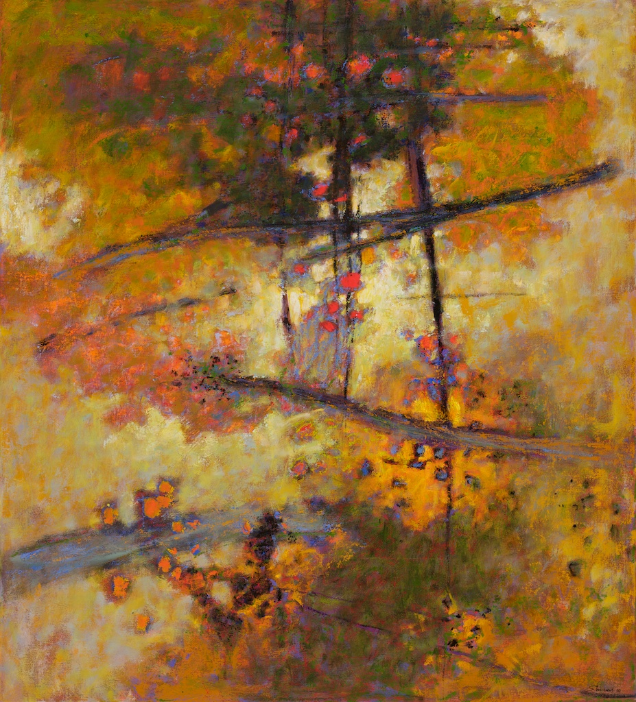 In Golden Light | oil on canvas | 40 x 36"